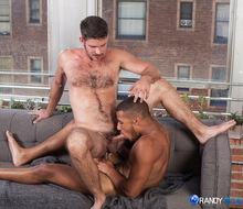 Dominic santos fucks jimmy fanz tight ass
